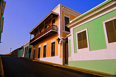 Old San Juan Art Print by Dado Molina