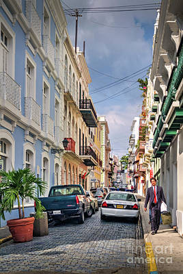 Photograph - Old San Juan by David Zanzinger