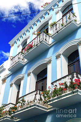 Photograph - Old San Juan Design Style by John Rizzuto