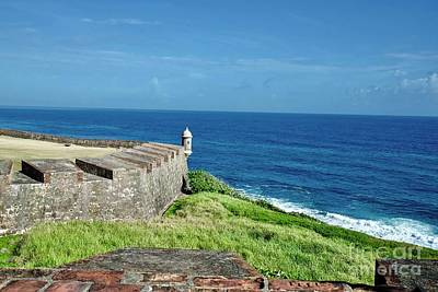 Photograph - Old San Juan Fort by Buddy Morrison