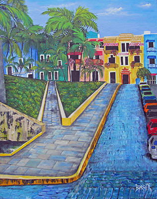 Painting - Old San Juan by Gloria E Barreto-Rodriguez