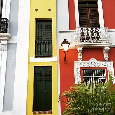 Photograph - Old San Juan Homes by The Art of Alice Terrill