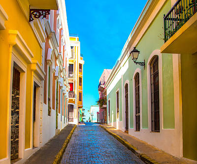 Photograph - Old San Juan  by Jim Bosch