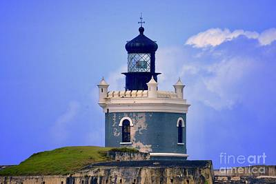 Photograph - Old San Juan Light by Buddy Morrison