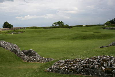 Photograph - Old Sarum by Mary Mikawoz