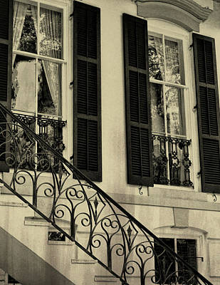 Photograph - Old Savannah Home by JAMART Photography
