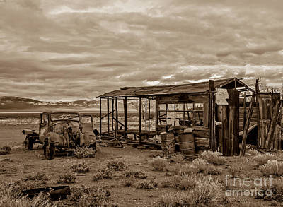 Photograph - Old Schellbourne Station by Robert Bales
