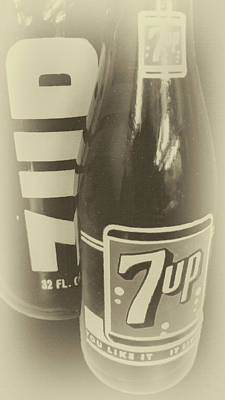 Photograph - Old School 7up by David Millenheft