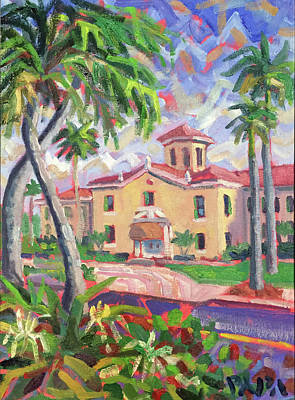 Painting - Old School At Delray 2017 by Ralph Papa