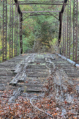Photograph - Old School Bridge by JC Findley