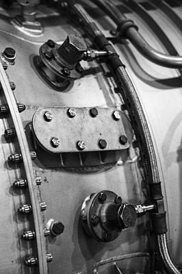 Photograph - Old School Engine by Christi Kraft