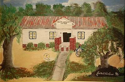 Painting - Alvin South Carolina Old School House by Joetta Beauford