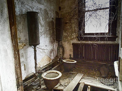 Photograph - Old School House Johnny House by Melissa Messick