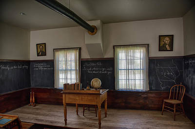One Room School Houses Photograph - Old School House by Paul Freidlund