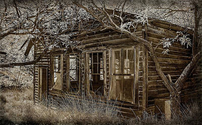 Photograph - Old School House Ruby Az by Elaine Malott