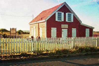 Photograph - Old School In Nova Scotia by Tatiana Travelways