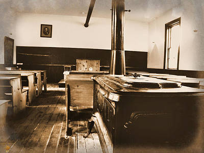 Photograph - Old School Interior by Scott Hovind