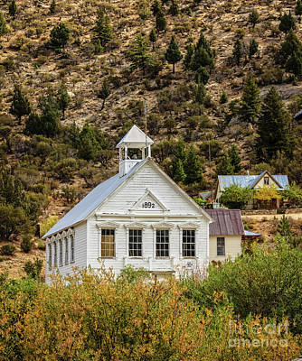 Photograph - Old School by Robert Bales