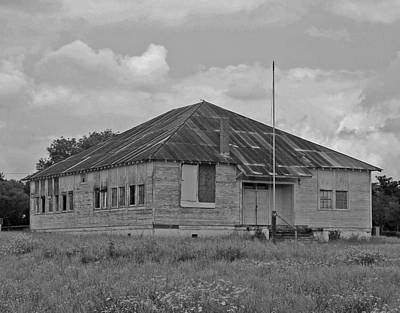 South Texas Photograph - Old School by Rodney Mumford
