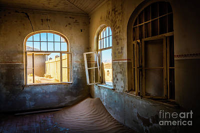 Delapidated Photograph - Old Schoolhouse by Inge Johnsson