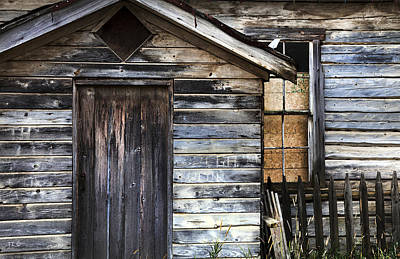Photograph - Old Schoolhouse by Theresa Tahara