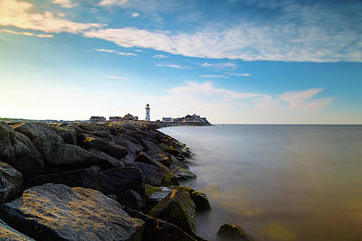 Photograph - Old Scituate Light 1 by Brian Hale