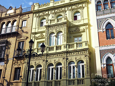 Photograph - Old Seville Style by John Rizzuto