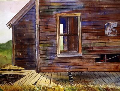 Old Shack At Highland Light Art Print by Dan McCole