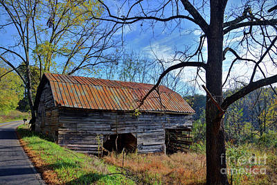 Photograph - Old Shack In The Mountains by Savannah Gibbs