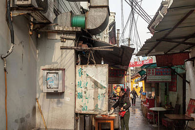 Photograph - Old Shanghai IIi by Erika Gentry
