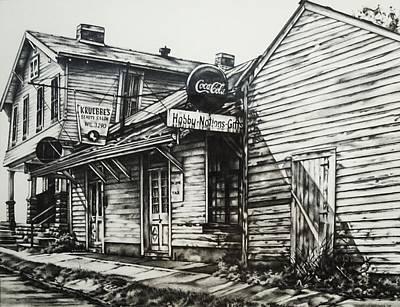 Old Shawneetown Original by Michael Lee Summers