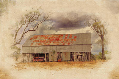 Photograph - Old Shed by Keith Hawley