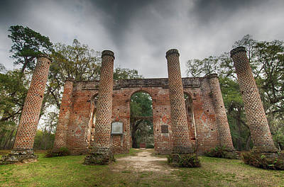 Photograph - Old Sheldon Church Ruins by Crystal Wightman