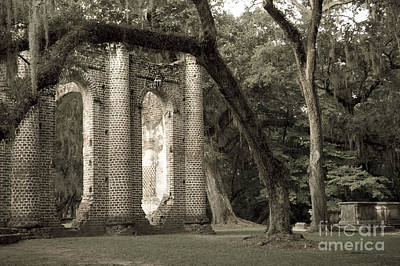 Old Sheldon Church Art Print by Scott Hansen