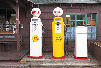 Impressionist Nudes Old Masters - Old Shell Pumps by Buddy Mays