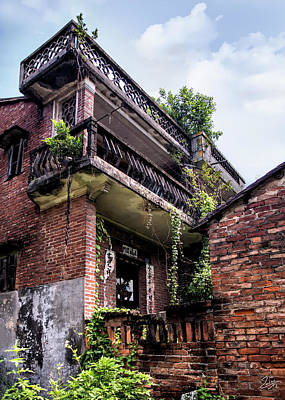 Photograph - Old Shilong House by Endre Balogh