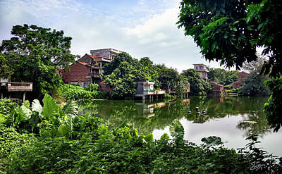 Photograph - Old Shilong Village by Endre Balogh