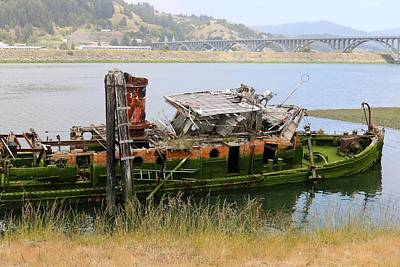 Photograph - Old Ship - 4 by Christy Pooschke