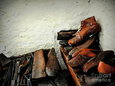 Photograph - Old Shoe Maker Of Ireland by Lexa Harpell