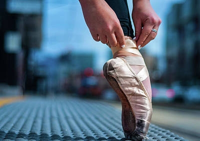 Dancer Photograph - Old Shoes by Dave Koch