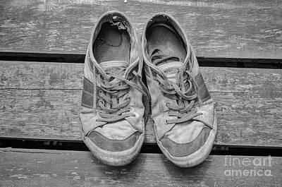 Photograph - Old Shoes by Michelle Meenawong