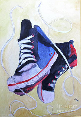 Painting - Old Shoes by Sandy McIntire