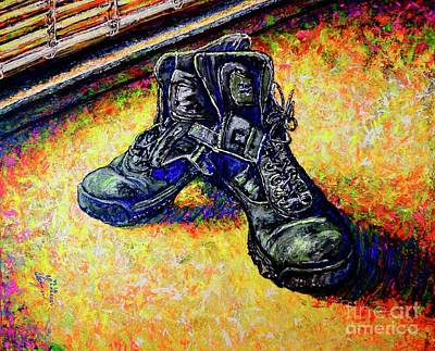 Painting - Old Shoes by Viktor Lazarev