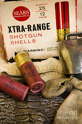 Old Shotgun Shells Art Print