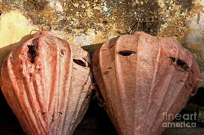 Photograph - Old Silk Lanterns 01 by Rick Piper Photography
