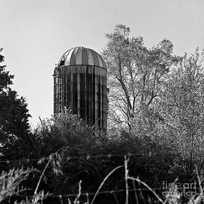 Photograph - Old Silo by Patrick M Lynch