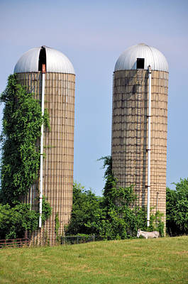 Photograph - Old Silos by Jan Amiss Photography