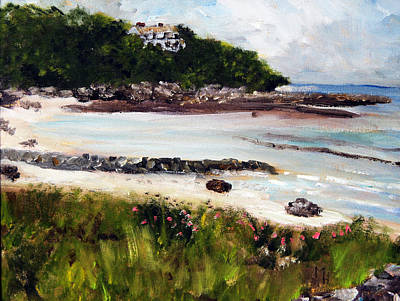 Old Silver Beach Falmouth Art Print