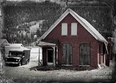 Bordello Photograph - Old Silverton Colorado Bordello  by Janice Rae Pariza