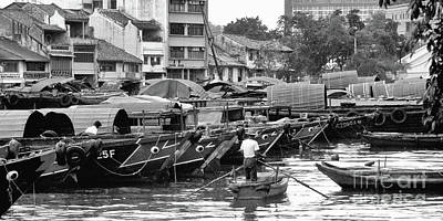 Photograph - Old Singapore 06 by Rick Piper Photography